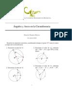 Geometria - Angulos y Arcos en La Circunferencia