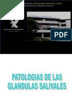 Patologias de Las Glandulas Salivales