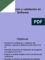 Verificacion y Validacion Software