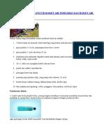 Cara Membuat Peluncur Roket Air Portable Dan Roket Air