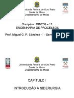Engenharia de Processos - Apuntes Siderurgia MIN238 2010 I Aglomeração