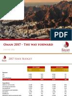 Oman 2017 Budget Report