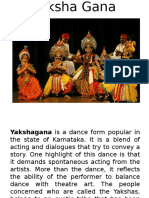 Dance Forms of Karnataka-text