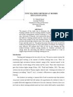 1.Effectiveteachingmethodsathighereducationlevel.pdf