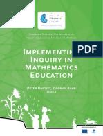 2 - Implementing Inquiry Mathematics Education Web