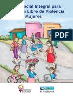 Ley Especial Integral Para Una Vida Libre de Violencia Para Las Mujeres Version Popular