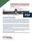 An Auschwitz erinnern