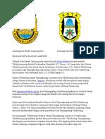 Lambang Kota Bandar Lampung BaruLambang Kota BandarLampung Lama