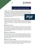 Summary 10 step promotional program toolkit.pdf