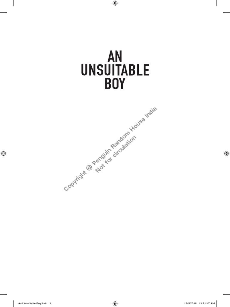 An unsuitable boy solutioingenieria Images