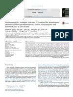 [PCR Multiplex Vibrio] Zhang Et Al. (2014) 2