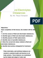 Fluid and Electrolytes Imbalances (5)