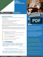 Document Management, Security & Retention 08 - 09 March 2017 Kuala Lumpur, Malaysia / 12 - 13 March 2017 Dubai, UAE