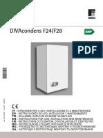 Manual Instrucciones DIVACONDENS F 24 28 ErP Agosto2015
