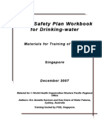 Water Safety Plan Workbook for Drinking Water