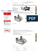 Three Processes CNC Woodworking Machining Center LD1325
