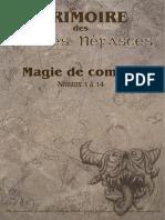 Grimoire Magie Combat GRAPHIC