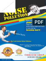 Noise Pollution English brochure