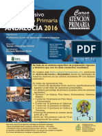 Curso Atencion Primaria Andalucia 2016