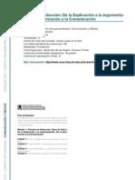 COMUNICACION Y MEDIOS - Técnicas de Redacción De la Explicación a la argumentación. De la Información a la Comunicación