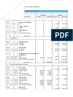 One Storey Residential_Cost Estimate