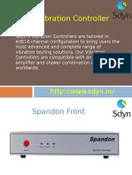 Vibration Controller | Electrodynamic Vibration System