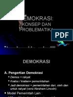 Problematik Demokrasi