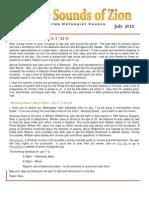 July2010 Newsletter