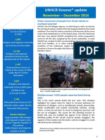 UNHCR External Update November_December 2016