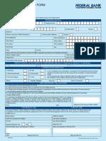 FedNet Application Form