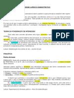 Administrativo - 2 - Regime jurídico administrativo.doc