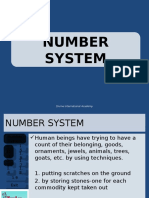 Number systems ppt