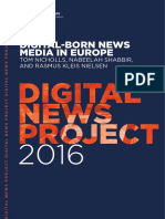 Digital-Born News Media in Europe