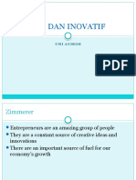 Kreatif Dan Inovatif