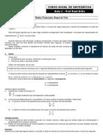 azão, Proporção, Regra de Três - Frente 1 - Versão 1