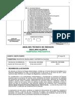 Análisis Técnico de Riesgos - Declara ATP Por Viento Fuerte, Region de Magallanes y Antartica Chilena