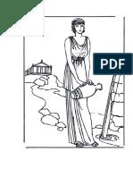Dibujos para colorear - edades historia