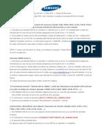 08 - Instrucciones Codigos Samsung