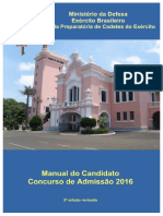 Manual Do Candidato 2016