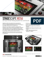 StageScape M20d One Sheet - English ( Rev a )