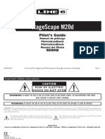StageScape M20d Quick Start Guide - English ( Rev C )