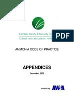 Ammonia Code of Practice