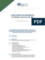 Cursos IBEC - Orçamento de Obras e Cálculo Do BDI