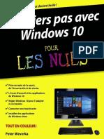 Premiers Pas Avec Windows 10 Pour Les Nuls