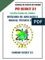 Bitácora de Adelanto - Unidad Scout 2013-r4
