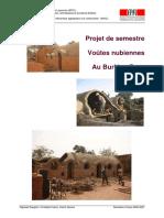 Voûtes Nubiennes Au Burkina Faso