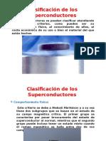 Clasificación de Los Superconductores