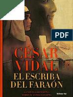 César Vidal-El Escriba Del Faraón