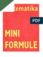 Matematika - Mini Formule