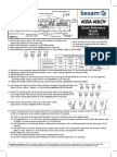Optex-Besam Sensor Dual Diagrama de Conexiones(2)